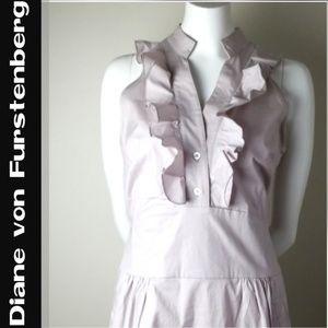 Diane von Furstenberg Sleeveless Dress NWT! Size 8
